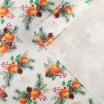 Упаковочная бумага Мандарины 70*100 - Все для мыла ручной работы - интернет-магазин Blesk-ekb.ru, Екатеринбург