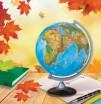 Картинка на водорастворимой бумаге Глобус 4,5*4,5 см, 1шт - Все для мыла ручной работы - интернет-магазин Blesk-ekb.ru, Екатеринбург