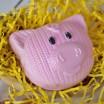 Пластиковая форма Вязаная свинка, 1 шт - Все для мыла ручной работы - интернет-магазин Blesk-ekb.ru, Екатеринбург