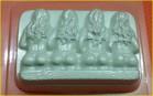 Пластиковая форма Кастинг 1 шт      - Все для мыла ручной работы - интернет-магазин Blesk-ekb.ru, Екатеринбург