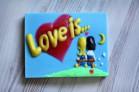Силиконовая форма Love is... 3D 1 шт - Все для мыла ручной работы - интернет-магазин Blesk-ekb.ru, Екатеринбург