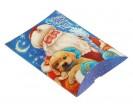 Коробка сборная Дед мороз с собачкой 11*8*2 1 шт - Все для мыла ручной работы - интернет-магазин Blesk-ekb.ru, Екатеринбург