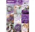 Наклейки стикеры Лаванда 11*16 4 шт - Все для мыла ручной работы - интернет-магазин Blesk-ekb.ru, Екатеринбург