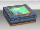 Коробочка для мыла Джинса 10*8*3 см 1 шт - Все для мыла ручной работы - интернет-магазин Blesk-ekb.ru, Екатеринбург