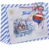 Пакет С Новым Годом! горизонтальный 18*23*8 1 шт - Все для мыла ручной работы - интернет-магазин Blesk-ekb.ru, Екатеринбург
