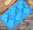 Силиконовая форма детская Транспорт 6 ячеек - Все для мыла ручной работы - интернет-магазин Blesk-ekb.ru, Екатеринбург