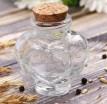 Бутылочка Сердце, стекло 50 мл 1 шт - Все для мыла ручной работы - интернет-магазин Blesk-ekb.ru, Екатеринбург