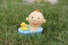 Силиконовая форма Малыш в ванне 3D 1 шт - Все для мыла ручной работы - интернет-магазин Blesk-ekb.ru, Екатеринбург