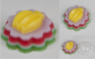 Пластиковая форма Желе Банан 1 шт - Все для мыла ручной работы - интернет-магазин Blesk-ekb.ru, Екатеринбург