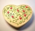 Силиконовая форма Сердце с орнаментом 4 2D 1 шт - Все для мыла ручной работы - интернет-магазин Blesk-ekb.ru, Екатеринбург