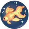 Силиконовая форма Золотая рыбка 2D - Все для мыла ручной работы - интернет-магазин Blesk-ekb.ru, Екатеринбург