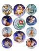 Водорастворимая бумага с печатью Елочные шары, 1 шт - Все для мыла ручной работы - интернет-магазин Blesk-ekb.ru, Екатеринбург
