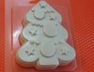 Пластиковая форма Ёлка нарядная 1 шт - Все для мыла ручной работы - интернет-магазин Blesk-ekb.ru, Екатеринбург