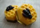 Силиконовая форма Пчела на сотах 2D 1 шт - Все для мыла ручной работы - интернет-магазин Blesk-ekb.ru, Екатеринбург