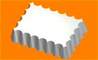 Пластиковая форма Волнушка малая 1 шт - Все для мыла ручной работы - интернет-магазин Blesk-ekb.ru, Екатеринбург