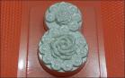 Пластиковая форма 8 в цветах, 1 шт  - Все для мыла ручной работы - интернет-магазин Blesk-ekb.ru, Екатеринбург