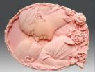 Силиконовая форма мама и малыш 2D 1 шт - Все для мыла ручной работы - интернет-магазин Blesk-ekb.ru, Екатеринбург