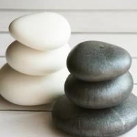 Форма для свечи Камни SPA 3D 1 шт - Все для мыла ручной работы - интернет-магазин Blesk-ekb.ru, Екатеринбург