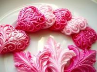 Силиконовая форма Кованное сердце 2D 1шт - Все для мыла ручной работы - интернет-магазин Blesk-ekb.ru, Екатеринбург