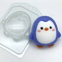 Пластиковая форма Пингвин мультяшный 1 шт - Все для мыла ручной работы - интернет-магазин Blesk-ekb.ru, Екатеринбург