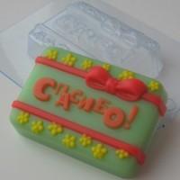 Пластиковая форма Спасибо 1 шт - Все для мыла ручной работы - интернет-магазин Blesk-ekb.ru, Екатеринбург