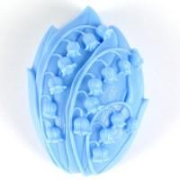 Силиконовая форма Ландыши 2D 1шт - Все для мыла ручной работы - интернет-магазин Blesk-ekb.ru, Екатеринбург