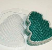 Пластиковая форма Елка вязаная 1 шт - Все для мыла ручной работы - интернет-магазин Blesk-ekb.ru, Екатеринбург