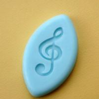 Силиконовый штамп Скрипичный ключ 2,1*4,3 1 шт - Все для мыла ручной работы - интернет-магазин Blesk-ekb.ru, Екатеринбург