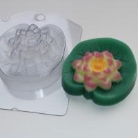Пластиковая форма Лотос 1 шт - Все для мыла ручной работы - интернет-магазин Blesk-ekb.ru, Екатеринбург