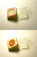 Пластиковая Глю-база Квадрат - Круг 1 шт   - Все для мыла ручной работы - интернет-магазин Blesk-ekb.ru, Екатеринбург