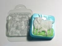 Форма пластиковая Козье молоко 1 шт - Все для мыла ручной работы - интернет-магазин Blesk-ekb.ru, Екатеринбург
