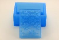 Текстурный вкладыш Прямоугольник №11 7,5*5,5 1 шт - Все для мыла ручной работы - интернет-магазин Blesk-ekb.ru, Екатеринбург