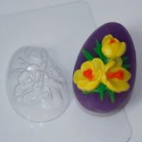 Пластиковая форма Яйцо крокусы 1 шт - Все для мыла ручной работы - интернет-магазин Blesk-ekb.ru, Екатеринбург