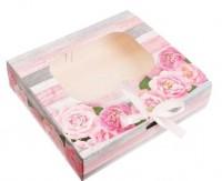 Коробка Подарочная с окошком  20*18*5, 1 шт - Все для мыла ручной работы - интернет-магазин Blesk-ekb.ru, Екатеринбург