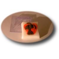 Пластиковая форма Сладкая парочка 1 шт - Все для мыла ручной работы - интернет-магазин Blesk-ekb.ru, Екатеринбург