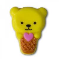 Пластиковая форма Мороженое Мишка 1 шт - Все для мыла ручной работы - интернет-магазин Blesk-ekb.ru, Екатеринбург