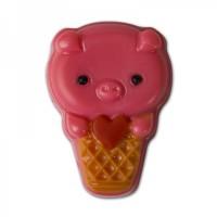 Пластиковая форма Мороженое Хрюшка 1 шт - Все для мыла ручной работы - интернет-магазин Blesk-ekb.ru, Екатеринбург