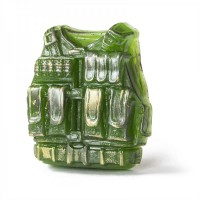 Пластиковая форма Бронежилет 1 шт - Все для мыла ручной работы - интернет-магазин Blesk-ekb.ru, Екатеринбург