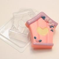 Пластиковая форма Скворечник 1 шт - Все для мыла ручной работы - интернет-магазин Blesk-ekb.ru, Екатеринбург