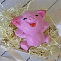 Пластиковая форма Веселая свинка 1 шт - Все для мыла ручной работы - интернет-магазин Blesk-ekb.ru, Екатеринбург