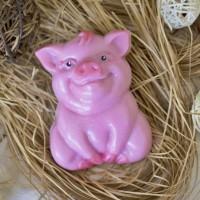 Пластиковая форма Свинка сидит 1 шт - Все для мыла ручной работы - интернет-магазин Blesk-ekb.ru, Екатеринбург