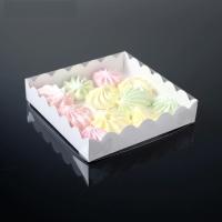 Коробочка белая, 12 х 12 х 3 см 1 шт 1 шт - Все для мыла ручной работы - интернет-магазин Blesk-ekb.ru, Екатеринбург