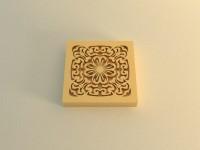 Силиконовый штамп № 35 3*3 1 шт - Все для мыла ручной работы - интернет-магазин Blesk-ekb.ru, Екатеринбург