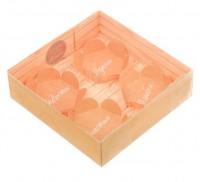 Коробка с прозрачной крышкой Для тебя 12*12*3, 1 шт - Все для мыла ручной работы - интернет-магазин Blesk-ekb.ru, Екатеринбург