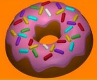 Пластиковая форма Пончик с глазурью 1 шт - Все для мыла ручной работы - интернет-магазин Blesk-ekb.ru, Екатеринбург