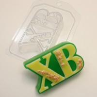 Пластиковая форма ХВ Розы 1 шт - Все для мыла ручной работы - интернет-магазин Blesk-ekb.ru, Екатеринбург