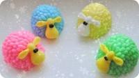 Силиконовая форма Пушистая овечка 3D 1шт - Все для мыла ручной работы - интернет-магазин Blesk-ekb.ru, Екатеринбург