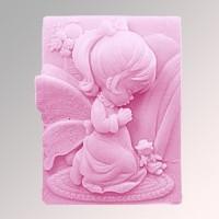 Силиконовая форма Ангел 80 2D 1 шт - Все для мыла ручной работы - интернет-магазин Blesk-ekb.ru, Екатеринбург