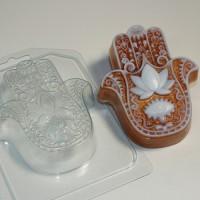 Пластиковая форма Хамса 1 шт - Все для мыла ручной работы - интернет-магазин Blesk-ekb.ru, Екатеринбург