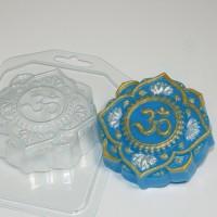 Пластиковая форма Ом/Орнамент 1 шт - Все для мыла ручной работы - интернет-магазин Blesk-ekb.ru, Екатеринбург